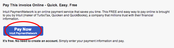 intuit payment network and quickbooks online